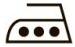 Символ утюг