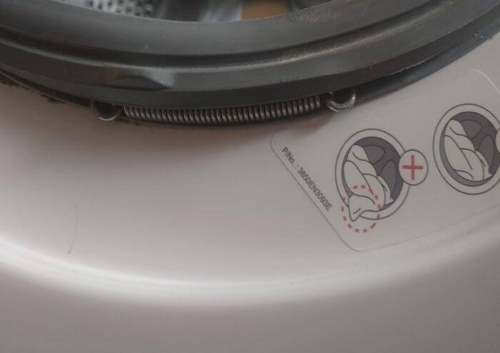 Как поставить уплотнительную резинку на стиральной машине